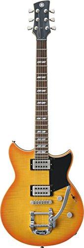 Yamaha RevStar RS720B Electric Guitar - Bigsby Tremolo with Gig Bag, Wall Fade