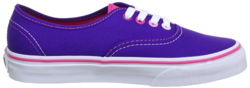 Vans U AUTHENTIC (MULTI POP)HELI - Zapatillas de lona unisex rosa - Pink ((Multi Pop)Heli)