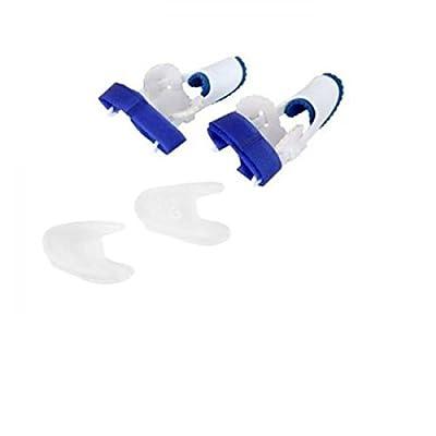 MagiDeal 1 Par Separadores de Punta Dedos de Pies Gel 1 Par Férula de Juanete Protector Suave Transpirable Confortable