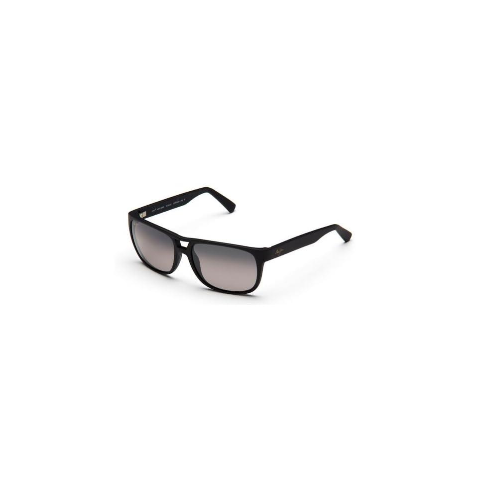 Maui Jim Sunglasses   Waterways / Frame Matte Black Rubber Lens Neutral Grey