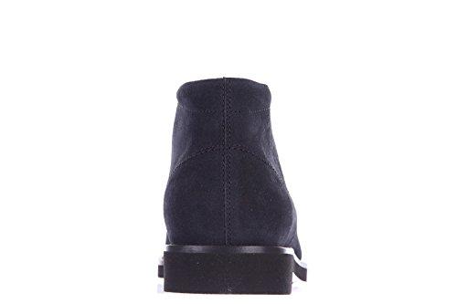 Tods Desert Boots Da Uomo In Pelle Scamosciata Con Lacci In Gomma Blu Chiaro