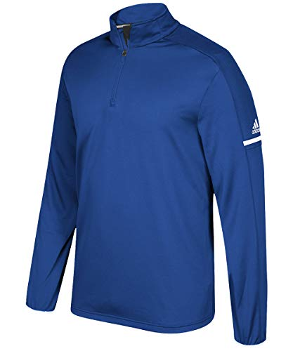 adidas Game Built Long Sleeve 1/4 Zip - Collegiate Royal - Medium