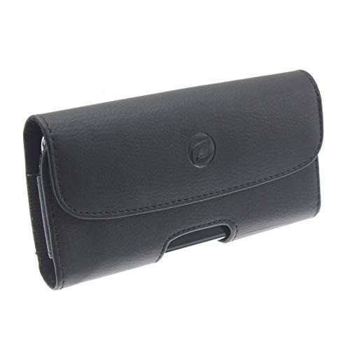 Amazon com: Black Horizontal Leather Case Side Cover Pouch