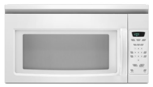 over the range microwave in black - 6