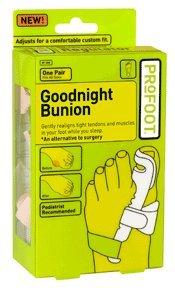 Bonne nuit Bunion Profoot réglable, Taille: 1 Pr