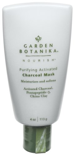 Garden Botanika Purifying Activated Charcoal Mask, 4-Ounce Bottles