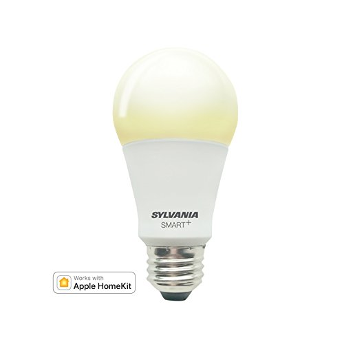 Sylvania Smart+ Bluetooth Soft White Dimmable A19 LED Bulb, Works and Apple HomeKit and Siri Voice Control, No Hub Required for Set up