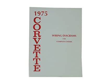 image unavailable  image not available for  color: 1975 corvette wiring  diagram book
