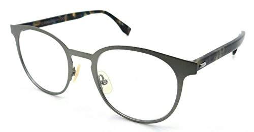 Rx Eyeglasses Frames FF M0009 R81 50-20-145 Matte Ruthenium Made in ()