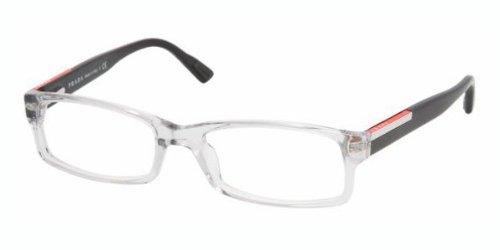 dfc6c062088f Prada Vps 10A Aaa-1O1 Clear Black Eyeglasses  Amazon.ca  Shoes ...