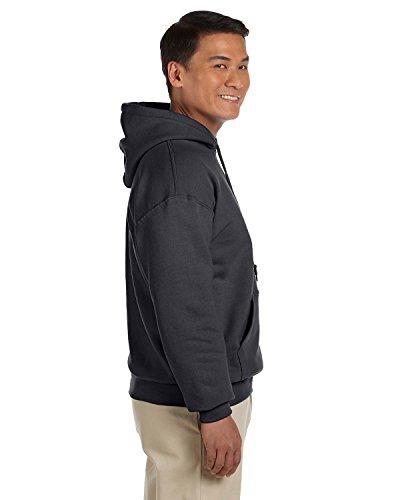 Gildan Men's Heavy Blend Hooded Sweatshirt - Charcoal ss18500 M - Fleece Jacket Hooded Ansi