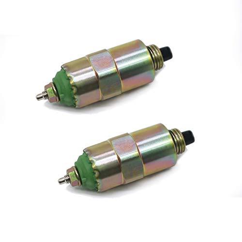 Diesel Stop Magnetic Valve Shutoff 7167-620B 83981012 Part No. RE22744 RE54064 E8NN9D278AA 2Pcs/set
