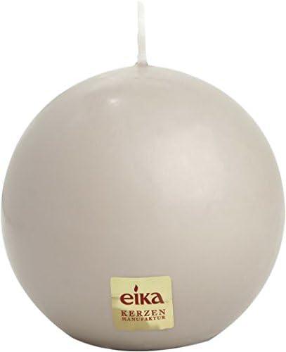 Eika-Kugelkerze 70 mm sand
