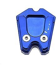 Voetkant stand Voor V&espa GTS GTV 3Vie Motorfiets Kickstand Uitbreiding Plaat Voet Side antislip Stand Cover Vergroten PadAccessoires Verlengstuk voor zijbeugel (Kleur : 2)