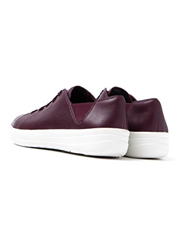 Fitflop Donna F-sporty Laceup Fashion Sneaker Deep Prugna