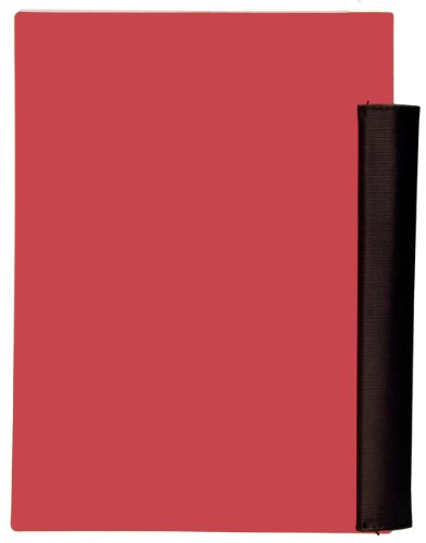Five Star Advance Wirebound Notebook, 2-Subject, 100 College-Ruled Sheets, 9.5 x 6 Inch Sheet Size, Red (72827)