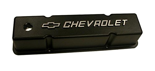 Racing Power Company R6336 Black Tall Aluminum Valve Cover with