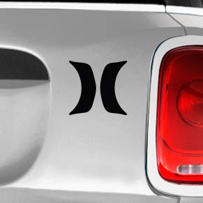 Hurley H Lines SK8//Surf//Snow//Water//Bike//Brands Automotive Decal//Bumper Sticker