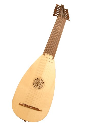 7-Course Travel Lute, Rosewood