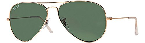 Ray-Ban RB3025 Polarized Original Aviator - Ban Aviator Original Ray