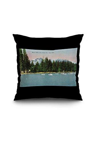 Lake Tahoe, California - Tallac Pier Vie - Vintage Black Pier Mount Shopping Results