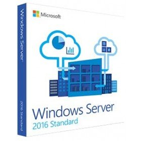 Microsoft Windows Server 2016 Standard 64-bit - Box Pack - 10 Cal by Microsoft