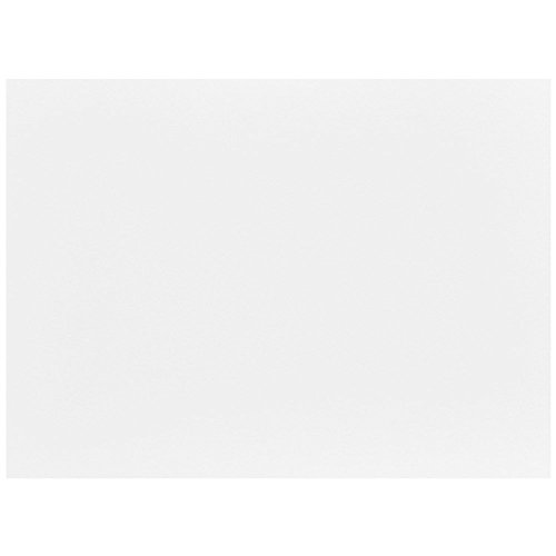 JAM PAPER Blank Flat Note Cards - 5 1/8 x 7 (Fits in A7 Envelopes) - White - 100/Pack ()