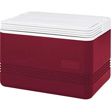 Igloo Legend 12-Can Personal Cooler Diablo Red ()