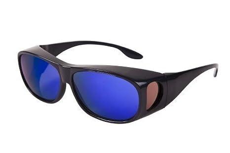 43ad354c84dbb Blanc   Bright Surlunettes (pour lunettes. Idéal pour le ski et les  activités en