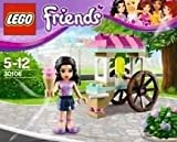 the ice cream stand - Lego Friends Polybag 30106 Emma with Ice Cream Cart Stand