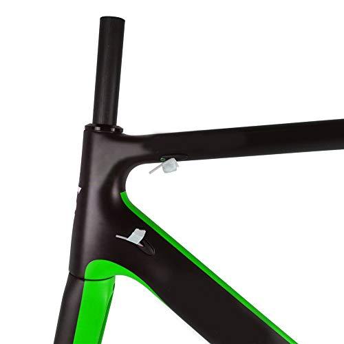 Cuadro de bicicleta de carretera de carbono ultraligero Tamaño de ...