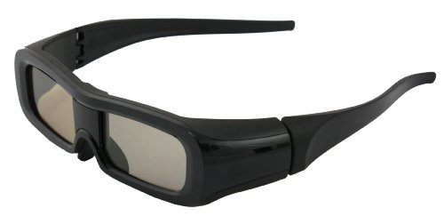 Rechargeable Infrared Active Shutter 3D Glasses