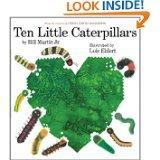 Ten Little Caterpillars Book and Audio CD