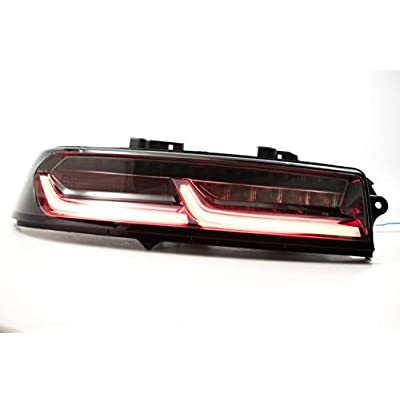 Morimoto XB LED Plug & Play Tail Light Assembly Compatible with 2014-2015 Chevy Camaro (Smoked): Automotive