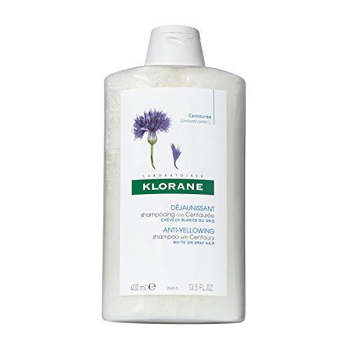 Klorane Anti -Yellowing Shampoo with Centaury for...