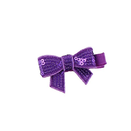 Doinshop 2015 9PC Cute Sweety Child Babys Girls Sequins Bowknot Flower Hair Clip Photography