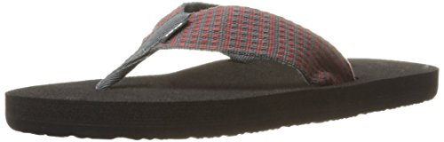 Teva Mens M Mush Ii Sandals Paz Dark Shadow / Brick