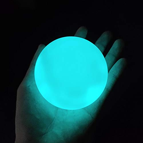 LOFTEK LED Floating Pool Lights, 3-inch RGB Color Changing Pool Balls with Replaceable Batteries, IP65 Waterproof Bath Toys, Perfect for Pool ToysPond Decoration