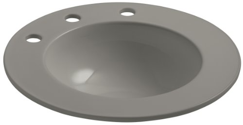 KOHLER K-2282-10-K4 Camber Self-Rimming Bathroom Sink with 10