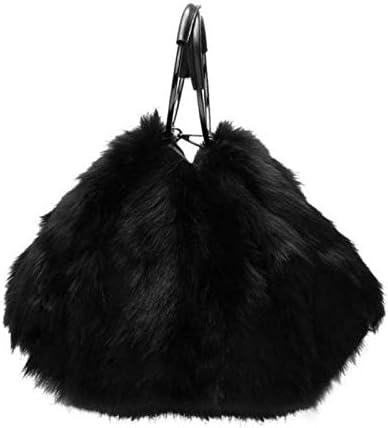 Onemoret Luxury brand soffice pelliccia sintetica donne Lady