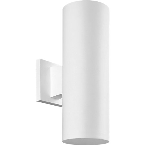 Progress Lighting P5713-30 5-Inch Non-Metallic Cylinder with Only Non-Corrosive Hardware Components Used and UL Listed For Wet Locations, White 30 Non Metallic Lanterns