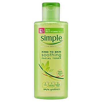 Simple Kind To Skin Soothing Facial Toner 200 Ml