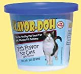 Flavor-Doh Pilling Agent, Fish Flavor for Cats, 200 grams