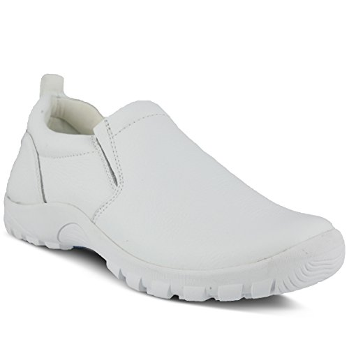 (Spring Step Men's Beckham Slip-On,White,44 EU/ 10.5-11 D(M) US)