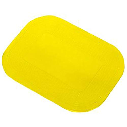 Dycem Pad - DycemPads & Activity Pads, Rectangle - Textured, Yellow, 10