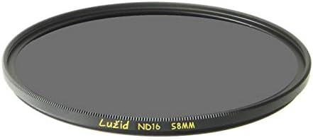 LURMVID 58mm ND16 MC Filter Schott B270 ガラス 真鍮フレーム 4ストップ ND 1.2 マルチコート 58 ルジッド