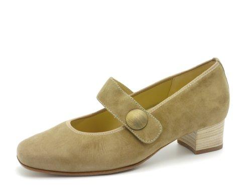 Hassia - Zapatos con hebilla de ante mujer