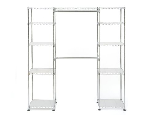 Gentil Amazon.com: Seville Classics Expandable Closet Organizer System: Home U0026  Kitchen