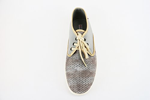 SUPERGA sneakers hombre Azul / gris Textil gris