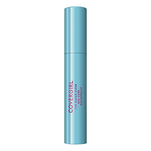 Covergirl Super Sizer Big Curl Waterproof Mascara, Black 825, 0.4 Ounce
